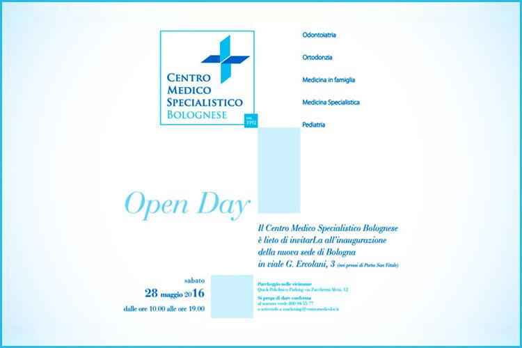 Open Day 28 maggio 2016